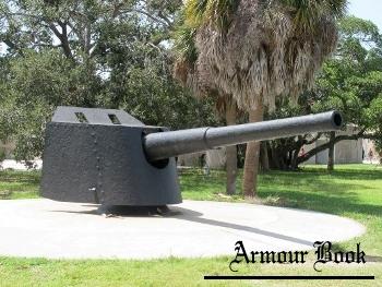 "US 6"" Coast Defense Gun on Armstrong Pedestal Mount [Walk Around]"