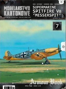 Spitfire Mk.Vb Messerspit [Modelarstwo Kartonowe]