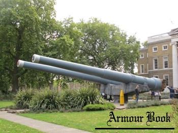 British BL 15 inch Mk I Naval Gun [Walk Around]