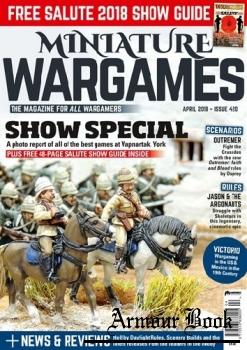 Miniature Wargames 2018-04