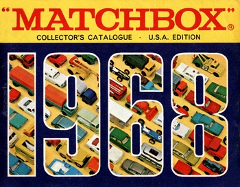 Matchbox 1968 Collector's Catalogue
