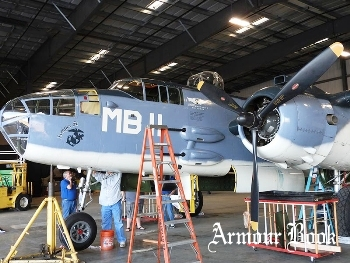 North American B-25J-30NC Mitchell [Walk Around]