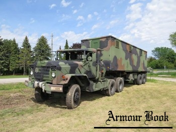 M931 Tractor with M129A2C Trailer [Walk Around]