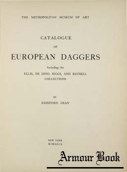 Catalogue of European Daggers [Metropolitan Museum of Art]