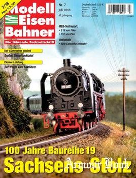 Modelleisenbahner 2018-07