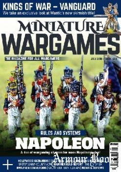 Miniature Wargames 2018-07