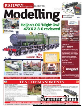 The Railway Magazine Guide to Modelling 2018-08