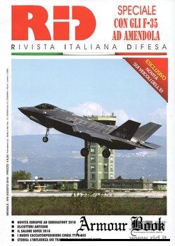 Rivista Italiana Difesa 2018-08