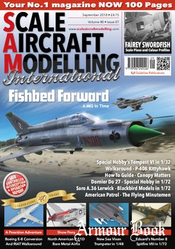 Scale Aircraft Modelling International 2018-09