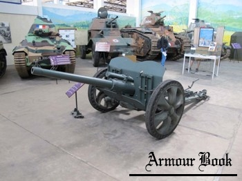 French 47mm SA37 Anti-Tank Gun [Walk Around]
