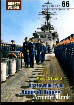 Krazowniki typu Admiral Hipoer cz. II (Okrety Wojenne Numer Specjalny №66)