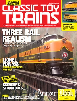 Classic Toy Trains 2018-11