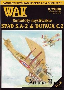 Spad S.A-2 & Dufaux C.2 [WAK 2008-08]