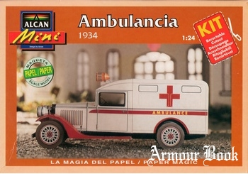 Ambulancia 1934 [Alcan]