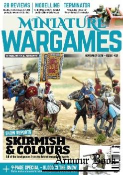 Miniature Wargames 2018-11