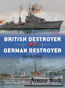 British Destroyer vs German Destroyer: Narvik 1940 [Osprey Duel 88]