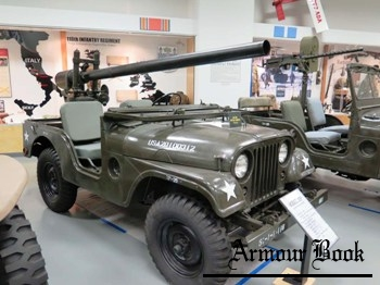 M38A1C Jeep with M40 106mm Recoilless Rifle [Walk Around]