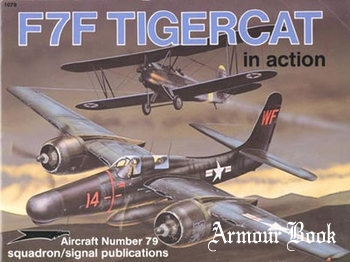 F7F Tigercat in Action [Squadron Signal 1079]