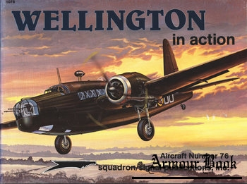 Wellington in Action [Squadron Signal 1076]