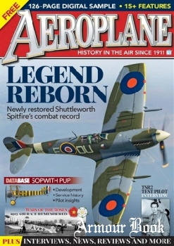 Aeroplane - Free Sample Issue 2018
