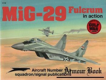 MiG-29 Fulcrum in Action [Squadron Signal 1112]