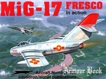 MiG-17 Fresco in Action [Squadron Signal 1125]