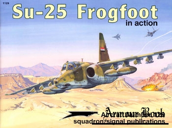 Su-25 Frogfoot in Action [Squadron Signal 1129]