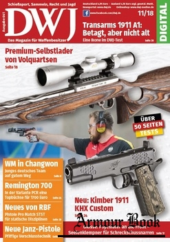 DWJ - Magazin fur Waffenbesitzer 2018-11