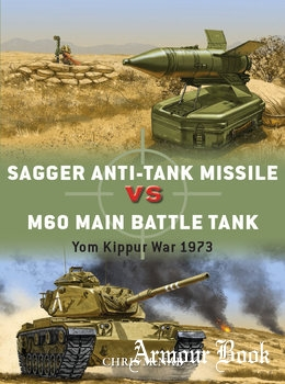 Sagger Anti-Tank Missile vs M60 Main Battle Tank: Yom Kippur War 1973 [Osprey Duel 84]