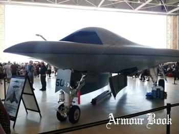 Northrop Grumman X-47B UCAS-D [Walk Around]