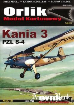 Kania 3 PZL S-4 [Orlik 125]