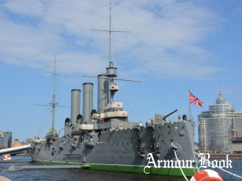 Бронепалубный крейсер 1-го ранга Аврора [Walk Around]