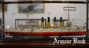 Модель бронепалубного крейсера Варяг [Walk Around]