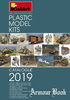 MiniArt Models Catalogue 2019