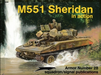 M551 Sheridan in Action (Squadron Signal 2028)