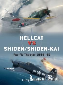 Hellcat vs Shiden/Shiden-Kai: Pacific Theater 1944-45 [Osprey Duel 91]