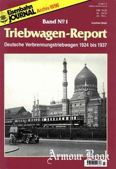 Eisenbahn Journal Archiv: Triebwagen-Report №1