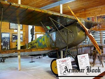 German WWI Fokker D VII  [Walk Around]