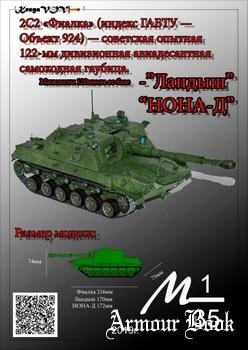 САУ 2С2 «Фиалка» c модификациями орудия «Ландыш» и «НОНА-Д» [KesyaVOV]