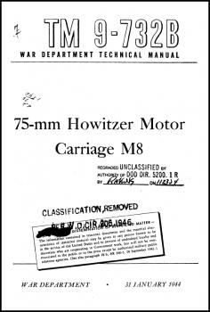 TM 9-732B 75mm HMC M8
