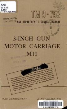 TM 9-752 3-inch GMC M10
