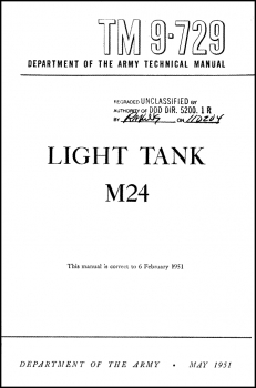 TM 9-729 Light Tank M24