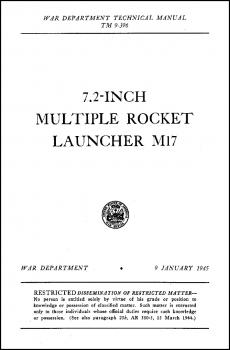 TM 9-396 7.2-inch Multiple Rocket Launcher M17