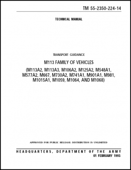 TM 55-2350-224-14 Transport Guidance M113 Family of Vehicles