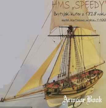 HMS Speedy, brytyjski kuter z 1828 roku (1/100)