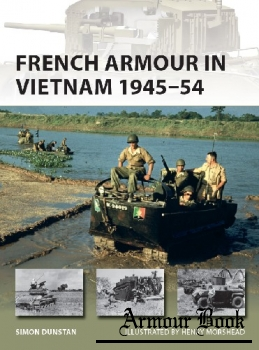 French Armour in Vietnam 1945-1954 [Osprey New Vanguard 267]