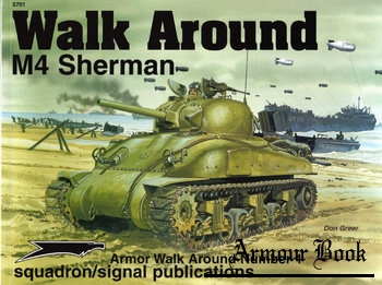 M4 Sherman Walk Around [Squadron Signal 5701]