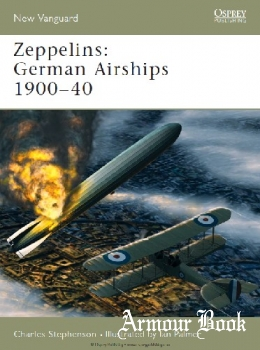Zeppelins: German Airships 1900-1940 [Osprey New Vanguard 101]