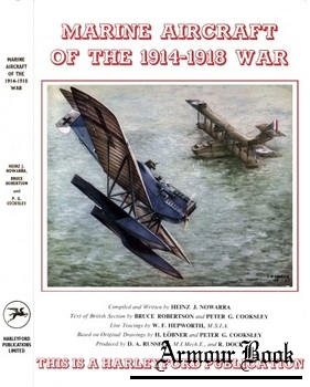Marine Aircraft Of The 1914-1918 War [Harleyford Publications]