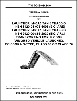 TM 5-5420-202-10 Launcher, M48A5 and M60A1 Tank Chassis